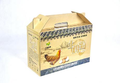 速迩广告:漂亮的礼盒让土鸡蛋高端大气上档次