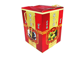 速迩广告为每一种酒制作专属包装盒