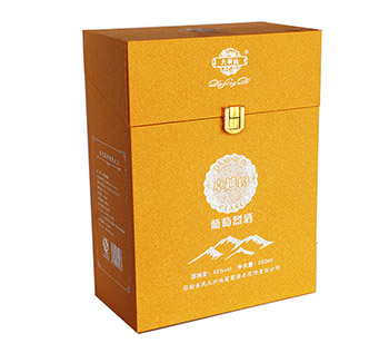 速迩广告葡萄酒高档包装盒