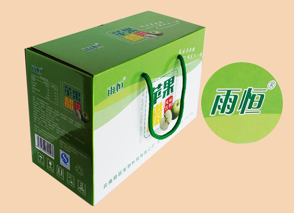 苹果醋包装盒