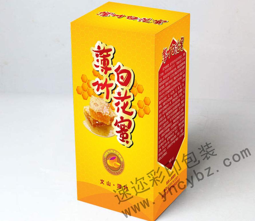 白花蜂蜜包装盒